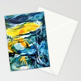 WinterFullMoon Stationery Cards