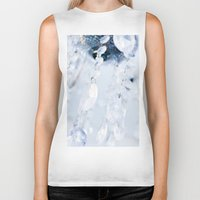 crystals Biker Tanks featuring Crystals by Mauricio Santana