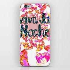 viva la noche iPhone & iPod Skin