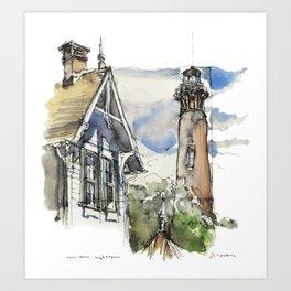 Currituck Lighthouse Art Print