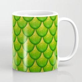 Fish Scales - Green Version Coffee Mug