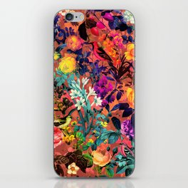 Floral and Birds II iPhone Skin