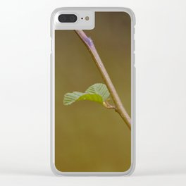 Minimalism Branch Clear iPhone Case