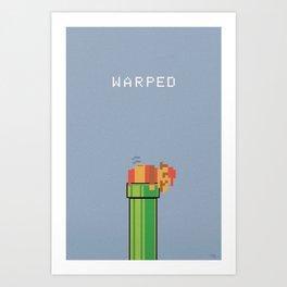 Warped Art Print