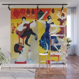A Spanish Afternoon                                 by Kay Lipton Wall Mural