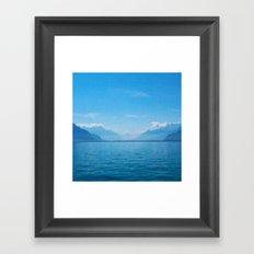 le Léman Framed Art Print