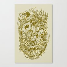 Fall Remains Canvas Print