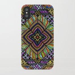 Family Mandala - מנדלה משפחה iPhone Case