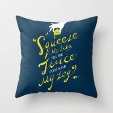 The Lemon Song Throw Pillow
