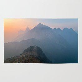 Sunrise On The Mountain Rug