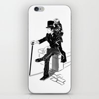 victorian iPhone & iPod Skins featuring Victorian by Cassandra Jean