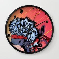 Ninja Bear & Lagorca Wall Clock