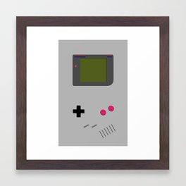 Gameboy iphone / ipod Framed Art Print