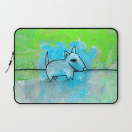 Dog No.1l by Kathy Morton Stanion Laptop Sleeve