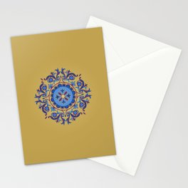 Ottoman Floral Art Stationery Cards