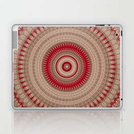 Textured Red Madala Laptop & iPad Skin