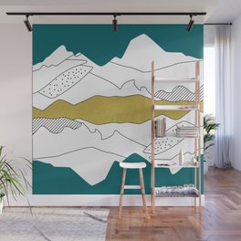 Modern, simple illustration Wall Mural