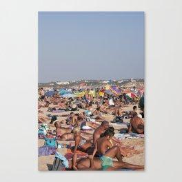 Beach Time 2! Canvas Print