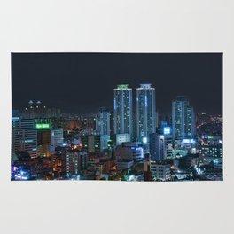 Daegu at Night Rug