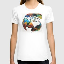 Parrot Head Art By Sharon Cummings T-shirt