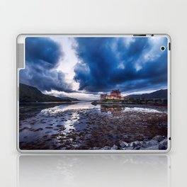 Dark Skies at Eilean Donan Castle Laptop & iPad Skin