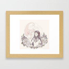 MadoHomu #1 Framed Art Print