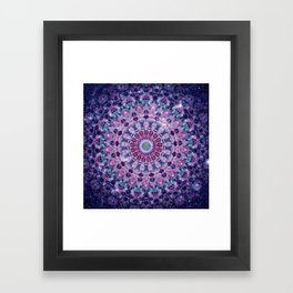 ARABESQUE UNIVERSE Framed Art Print