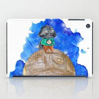 the little prince iPad Cases featuring Little Prince Vader by gunberk