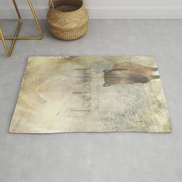 Iceland, forged by fire and ice Rug