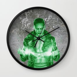 Suicide Joker on the wall Wall Clock