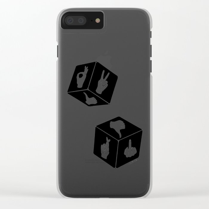Current Mood Clear iPhone Case