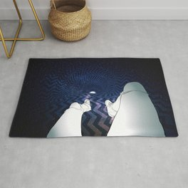 Fall into the abyss Rug