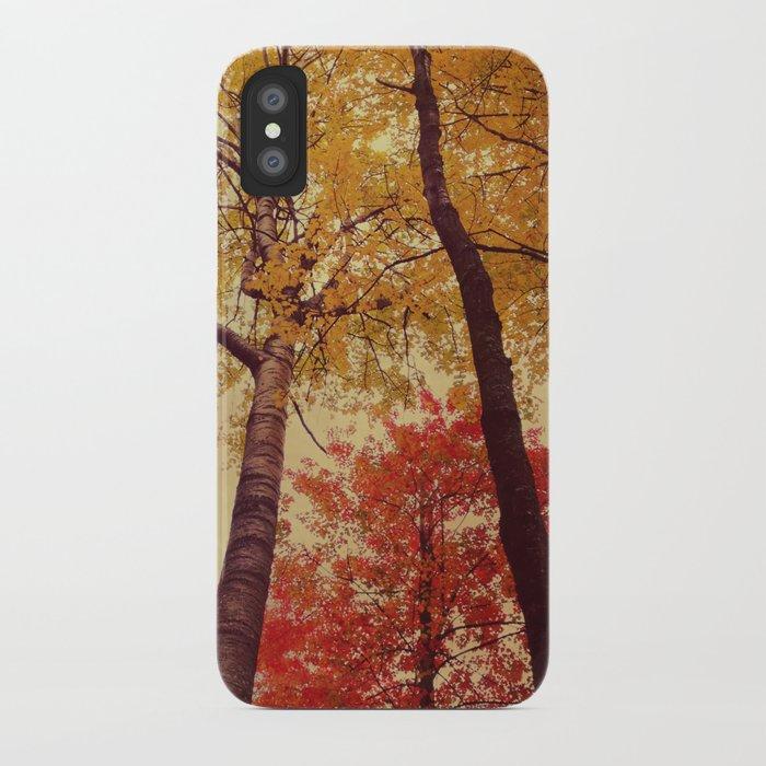 Autumn Couple iPhone Case