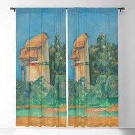 Paul Cézanne - The Pigeon Tower at Bellevue 1890 Blackout Curtain