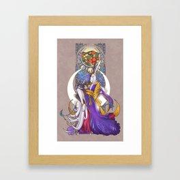 Lunar Repose Framed Art Print