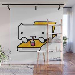 BUB-YO says chill. Wall Mural