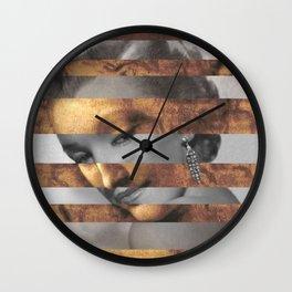 "Leonardo's ""Head of a Woman"" & Marylin Monroe Wall Clock"