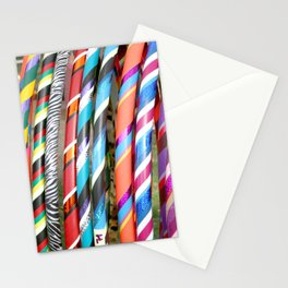 Hula Hoops Stationery Cards