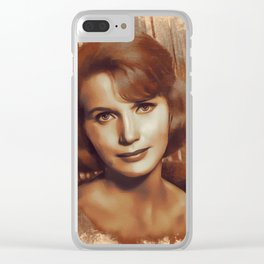 Eva Saint Marie, Actress Clear iPhone Case