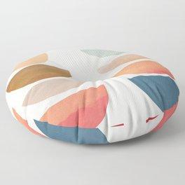 Modern Abstract Art 75 Floor Pillow