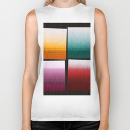 Abstract Composition 505 Biker Tank
