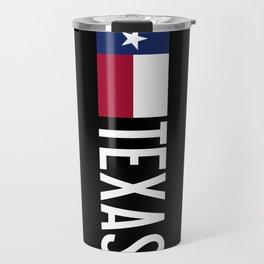 Texas: State Flag of Texas Travel Mug