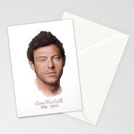 Cory Monteith Stationery Cards