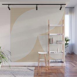 Curvature Minimalism II - Warm Neutral Wall Mural