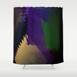 Waves.... Shower Curtain
