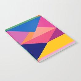 Geometric Color Block Notebook