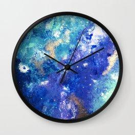 Muscida I - Abstract Costellation Painting Wall Clock