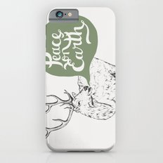 Christmas Carol Elk iPhone 6s Slim Case