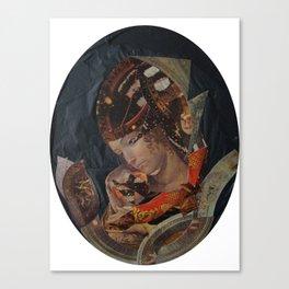 LA VIERGE ET L'ENFANT DISPARU Canvas Print