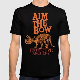 "AIM THE BOW - EXTINCT""IVE"" ARCHERY / 70s RETRO T-shirt"